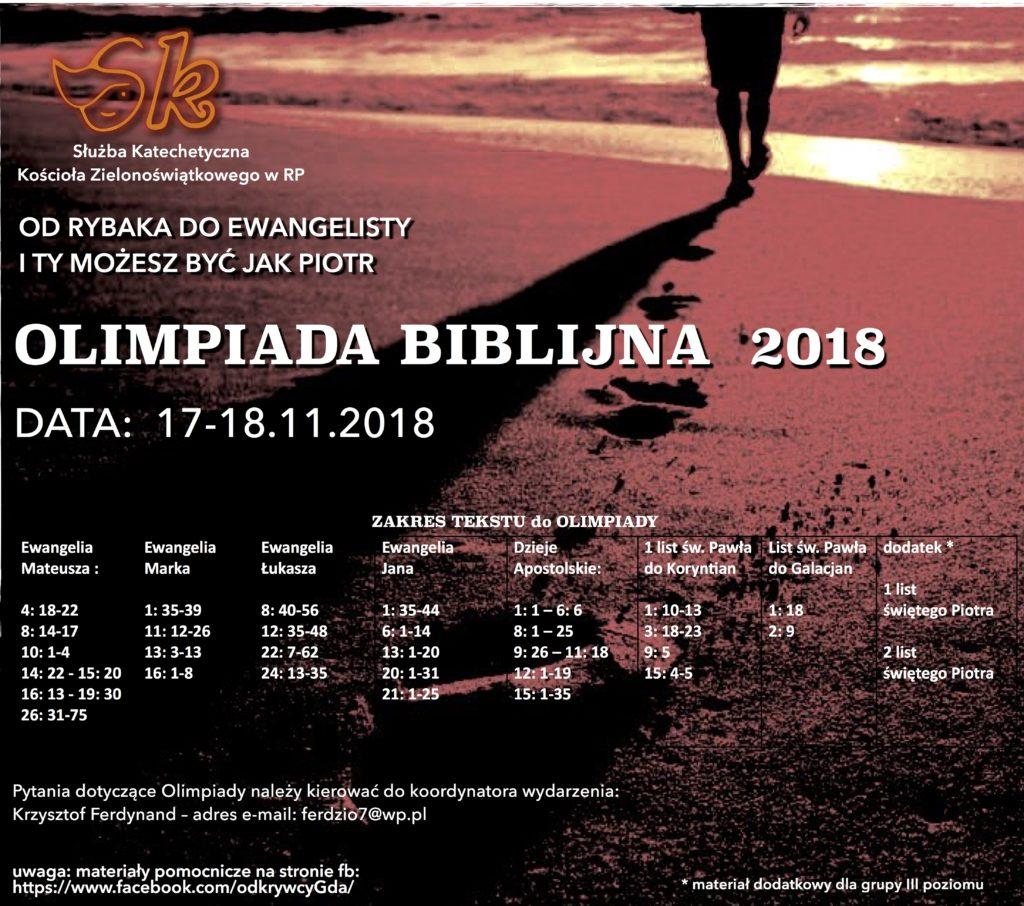 OLIMPIADA 2018- PLAKAT